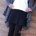 寒いこの時期お役立ちアイテム♪当店の人気商品!パンツに重ねてはいて『ストレッチminiスカート』