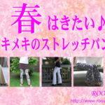 春はきたい♪トキメキの美脚パンツ/春おススメのストレッチパンツカラーをご紹介