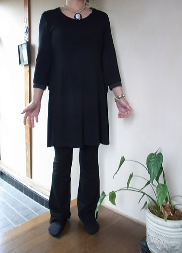 お客様ご来店&ご試着の様子/ストレッチパンツ専門店【ROOSAルーサ】