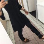 お客様モデルの画像頂きました/上から下までルーサファッション!