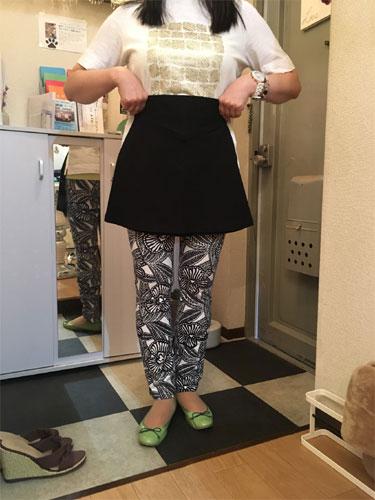 ルーサ美脚パンツの試着会の様子/2019.05.26東京都江戸川区西葛西にて