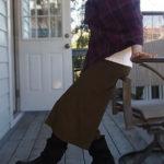 大人向け♡ガウチョパンツの秋冬の着こなし方、コーディネート/ストレッチパンツ専門店【ROOSAルーサ】