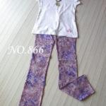 春のおすすめカラーをご案内/桜色のトキメキの美脚パンツ